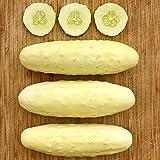 Silver Slicer Cucumber Seeds (20 Seeds)