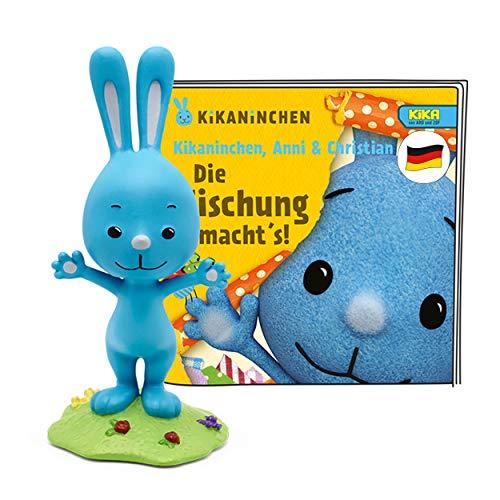 tonies Hörfigur für Toniebox, Kinderlieder: Kikaninchen – Die Mischung macht's, Kikaninchen lustigen...