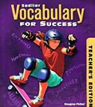 Vocabulary for Success Level B , Grade 7- Teacher's Edition