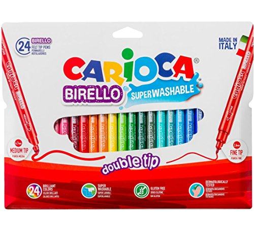 Carioca A53512024 - Pack de 24 rotuladores