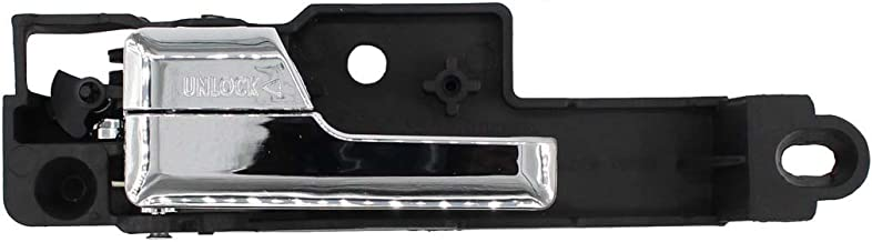 Front Left Driver Side Inside Chrome Door Handle for Ford Fusion Mercury Milan Lincoln MKZ