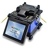 """Saldatrice Fibra Ottica,SUWOLF 5""""LCD Alta Precisione FTTH Giuntatrice Fibra ottica/Allineamento Del Nucleo Optic Fiber Fusion Splicer per SM MM NZ-DS EDF con Fibra Cleaver e Saldatura Auto(FS18)"""