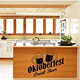 Modernes Bier wasserdichte Küche Wandaufkleber Art Deco Home Decoration Kühlschrank...