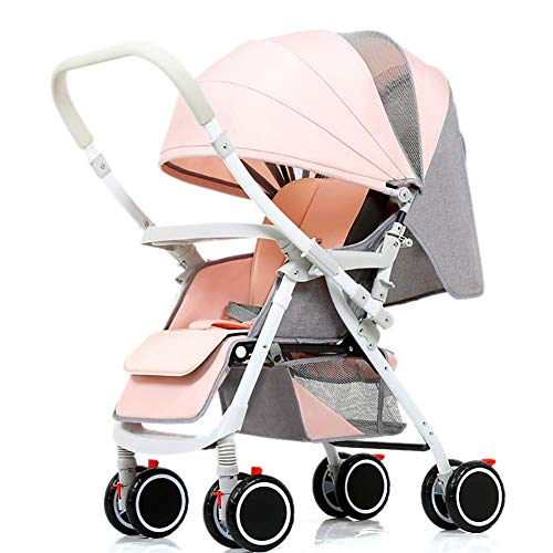Best Deals! OLMITA Baby Stroller, 5 Point Harness, 2 in 1 Convertible Carriage Bassinet to Stroller,...
