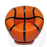 PXX Ball Chair Sillones Sofá Niño Basketaball Lector de Niños para Sala de Estar Dormitorio de Recepción Contemporáneo