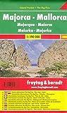 Mallorca, mapa de carreteras de bolsillo plastificado, Island Pocket. Escala 1:190.000. Freytag & Berndt.: Toeristische wegenkaart 1:190 000: 0507 IP (Auto karte)