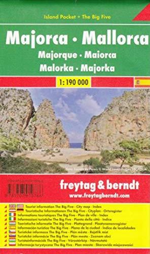Mallorca: Island Pocket + The Big Five - Maßstab 1:190.000: Toeristische wegenkaart 1:190 000 (freytag & berndt Auto + Freizeitkarten)