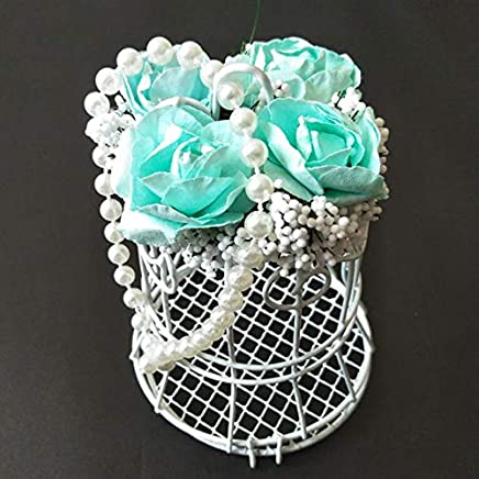 SuSip Candy Box Chest European Style Birdcage Shape Decoration Gift for Wedding Reception