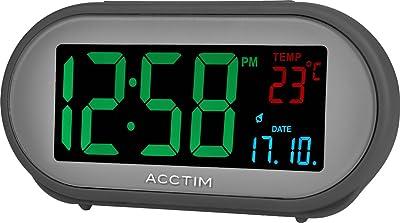 Acctim 15547 Acton Multi-Colour VA Smart Connector - Alarma de Alarma, Color Gris
