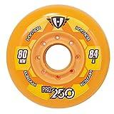 Hyper Pro 250 - Ruedas para patines en línea ( 72 mm ) , color naranja, talla 72 (pack de 4 unidades)