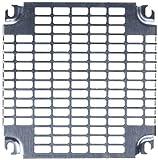Schneider Electric NSYMR33 Placas Perforada Monobloc, Al 300 x An 300 mm con Perforaciones Universales, Al es 11x26 mm