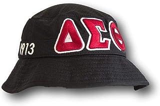 60c16f01ff0 Delta Sigma Theta Sorority Black Floppy Bucket Hat