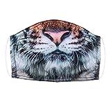 Photo de Boland 56780 - Masque Tigre pour adulte - Pour tous les jours - Masque animal - Chat sauvage - Halloween - Carnaval - Déguisement