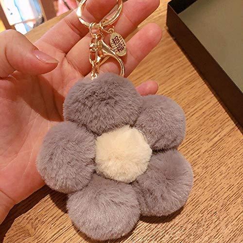 Sleutelhanger Knuffel Bloem Sleutelhanger Creatief Ornament Gift Accessoire Hanger