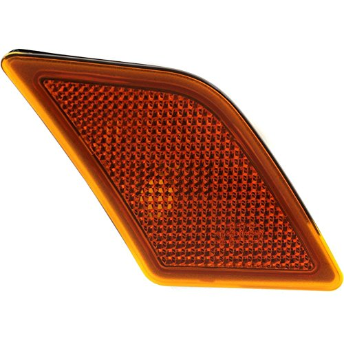 Front Side Marker Lamp compatible with MBenz C-Class 08-11/C63 12-15 Right Lens and Housing (08-14 Sedan)/(12-15 Coupe)