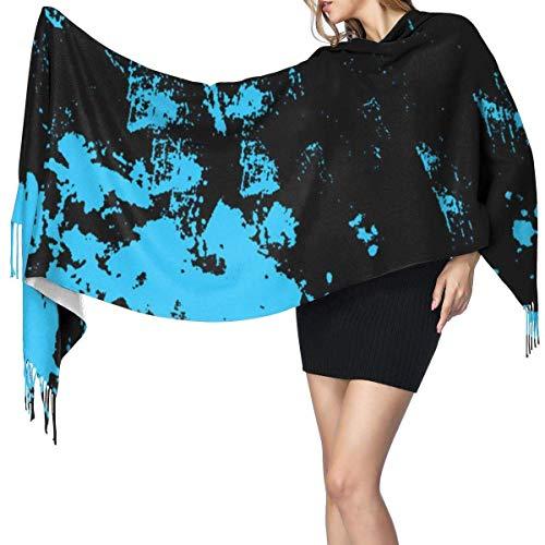 Shichangwei Pashmina de cachemira artificial grande y suave, para invierno, Navidad, heladas, para mujer, bufanda cálida