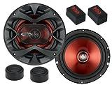 BOSS AUDIO CH6CK Chaos Exxtreme Serie 2-Wege Lautsprecher System 350 Watt / 6.5' Zoll