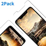 Vkaiy Panzerglas Schutzfolie kompatibel mit Xiaomi Pocophone F1, Ultra-Klar Glas 9H Festigkeit 3D Touch Kompatibel Anti-Kratzen, Anti-Öl, Anti-Bläschen für Xiaomi Pocophone F1, 2 Stück