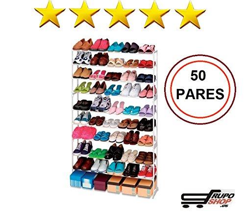 Mueble Zapatero 50 Pares IKEA │ Estanteria de Zapatos │ Armario para Zapatos Organizador