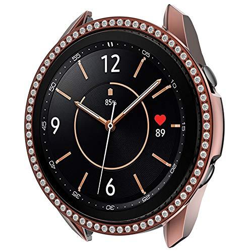 Puwind Funda protectora para reloj de 41 mm, color café
