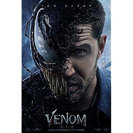 "Venom Movie Poster 13x20/"" 24x36/"" 27x40/"" 32x48/"" Marvel Tom Hardy Film Art Print"
