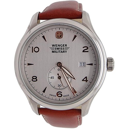 Wenger Swiss Army Military'Silver Dial' Watch 79301C