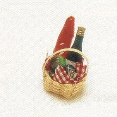 Liards Discount mail order Miniature discount Picnic Basket of Set 6