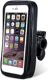 Rowerowy uchwyt na telefon GPS MP4 worek do przechowywania wodoodporny pokrowiec uchwyt na kierownic? pokrowiec na rower g...