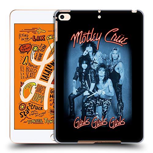 Official Motley Crue Girls Neon Key Art Hard Back Case Compatible for Apple iPad mini (2019)