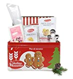 Confezione da 220 g Kit per biscotti pan di zenzero Ideali per il periodo natalizio