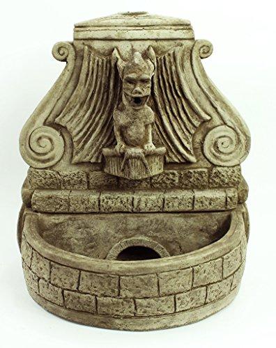 Fleur de Lis Garden Ornaments LLC Gargoyle Table Top Fountain Concrete Water Feature