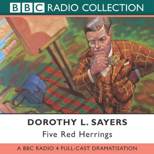 Five Red Herrings (Dramatised) audiobook cover art