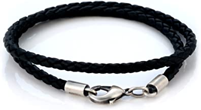 Best black braided necklace Reviews