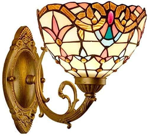 GXY Luz de Pared de Diseño Barroco Vintage Europeo Vintage de Vidrieras...
