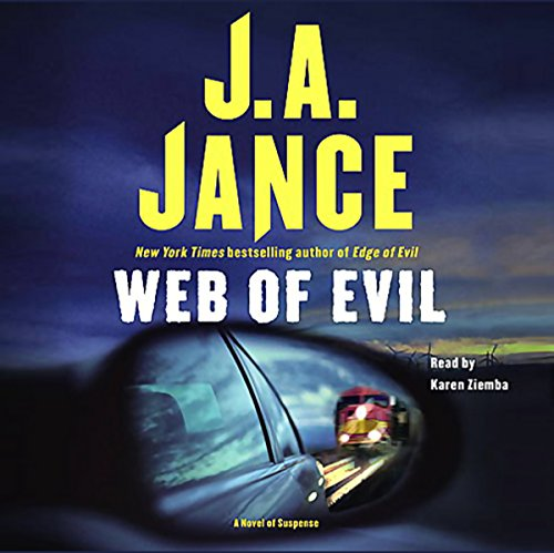 Web of Evil audiobook cover art