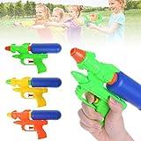 ECMQS Wasserpistole Spielzeug, Kinder Blaster Sprühen Wasser Pistole Strand Spielzeug, 1 Stück Zufällig Farbe