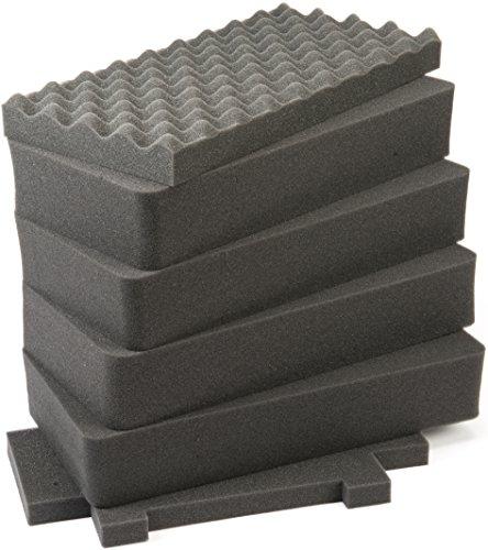 Pelican Products 1440-400-000 Pelican 1441 Reserveplectrum N Pluck Foam Set voor 1440 koffers (zwart)