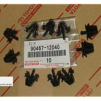 labwork-parts 50 Clips for Toyota Tacoma RAV4 4Runner Pickup Grille Retainer 90467-12040