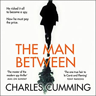 The Man Between                   By:                                                                                                                                 Charles Cumming                               Narrated by:                                                                                                                                 Charlie Anson                      Length: 10 hrs and 37 mins     95 ratings     Overall 4.2