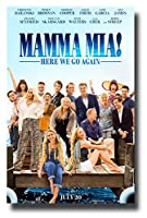 Mama Mia 2ムービーPromoポスター11 x 17インチHere We Go Again Dock