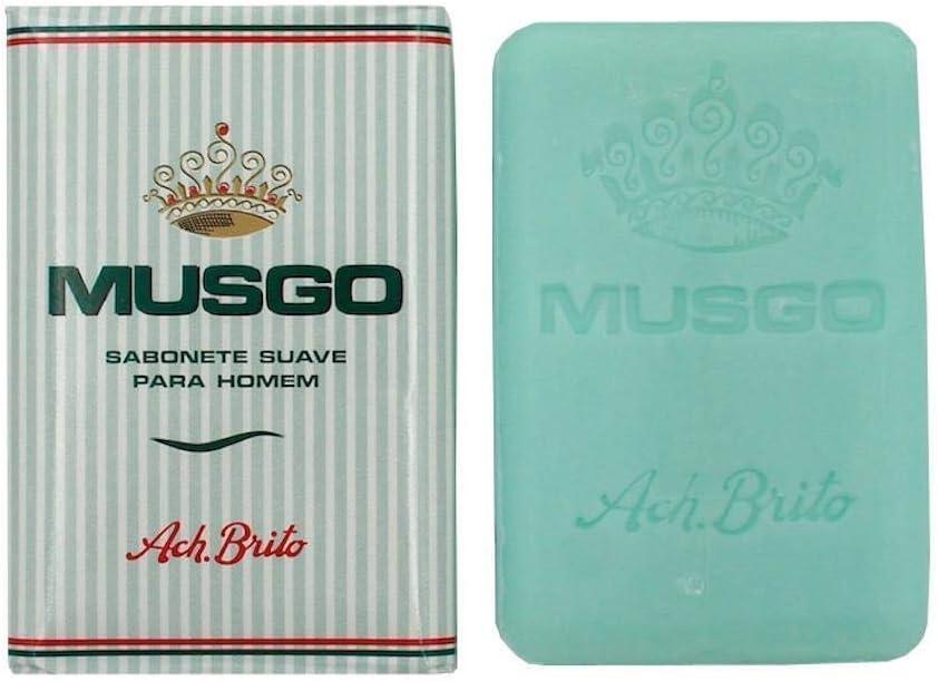 3x Ach. Brito Musgo Real Men Body Bath Ranking TOP1 Toilet Soap Soldering Vintage