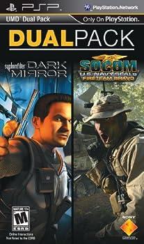 PSP 2 Pack Socom  Fireteam Bravo and Syphon Filter  Dark Mirror