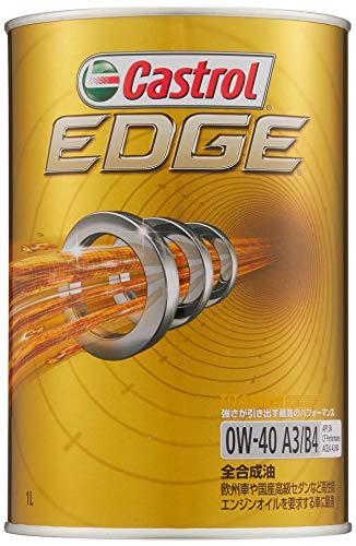 カストロール エンジンオイル EDGE 0W-40 1L 4輪ガソリン/ディーゼル車両用全合成油 SN/CF Castrol