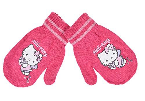 –Manoplas bebé niña Hello Kitty 6colores talla única (6–36meses) rosa rosa oscuro Talla:talla única