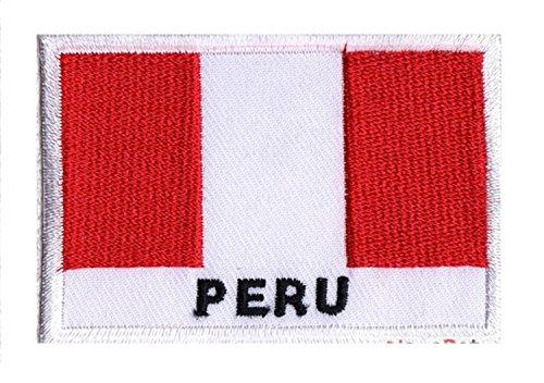 NagaPatches - Parche bordado bandera Perú
