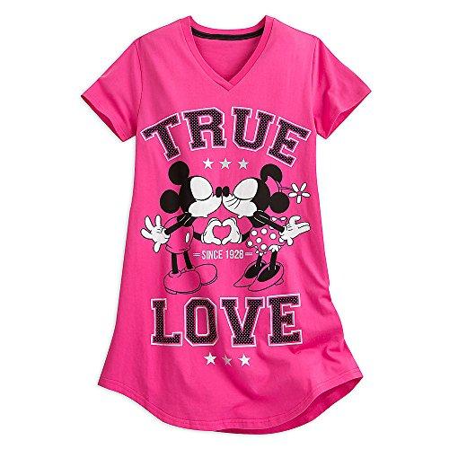 Disney Damen Mickey Minnie MO E Nachthemd Gr. XL/XXL, rose