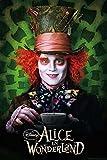 Alice im Wunderland Poster Hutmacher (Johnny Depp) (68cm x