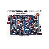 Nathan- Puzzle 1000 pièces Equipe de France FFF Clubs de Foot Adulte, 4005556876297