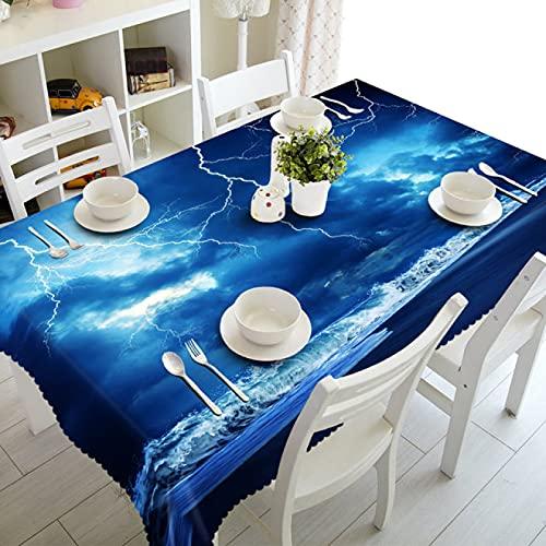 sans_marque Mantel de mesa, mantel de mesa, mantel simple, mantel de mesa, tapete de mesa adecuado para decoración de cocina en el hogar, cuadrado, 80 cm x 80 cm