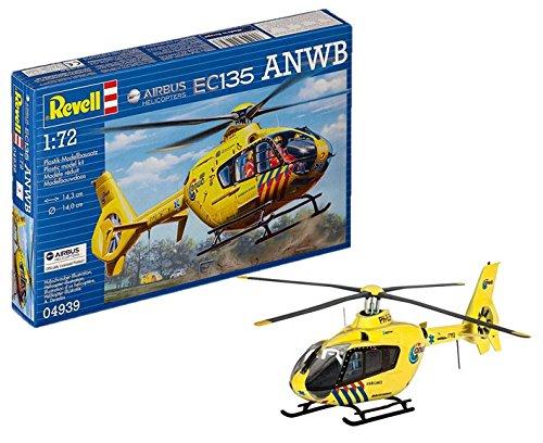 ドイツレベル 1/72 EC135 オランダ 救急ヘリコプター プラモデル